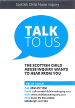 TalkTo Us Leaflet Scottish Child Abuse Inquiry
